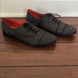 Tom's Herringbone Oxford Shoes Size 8.5